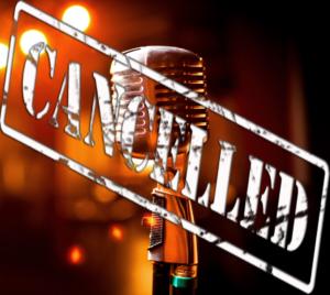 Karaoke Night Cancelled