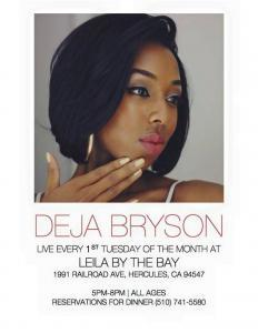 Leila By The Bay Jazz Night!