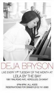 Jazz Night with Deja Bryson!