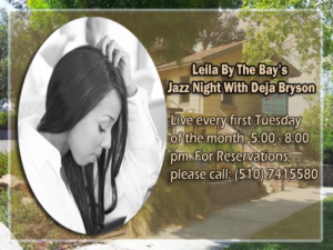 Leila By The Bay Jazz Night