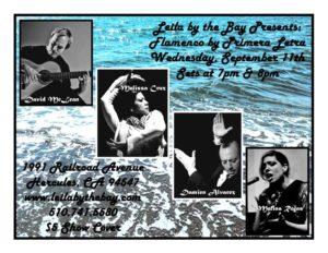 Leila By The Bay Live Flamenco Show