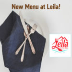 Leila's New Menu