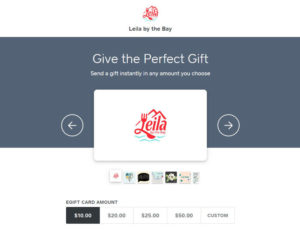 Leila by the Bay Gift Card