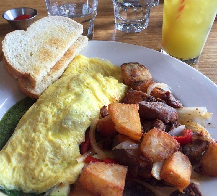 Breakfast Menu at Leila by the Bay