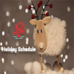 Leila by the Bay - Holiday Schedule