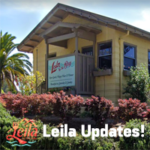 Leila by the Bay - Latest from Leila - Leila by the Bay front, logo and text.
